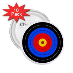 Target 2 25  Button (10 Pack)
