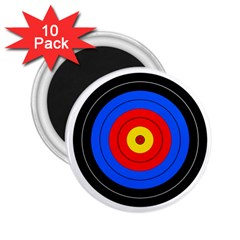 Target 2 25  Button Magnet (10 Pack)
