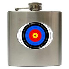 Target Hip Flask