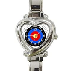 Target Heart Italian Charm Watch