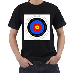 Target Mens' Two Sided T Shirt (black)