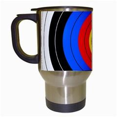Target Travel Mug (white)