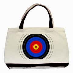 Target Twin-sided Black Tote Bag