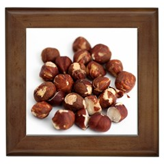 Hazelnuts Framed Ceramic Tile
