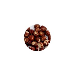 Hazelnuts 1  Mini Button Magnet