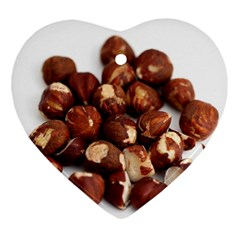 Hazelnuts Heart Ornament