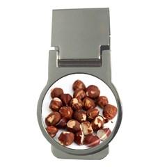 Hazelnuts Money Clip (Round)