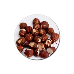 Hazelnuts Drink Coasters 4 Pack (Round)