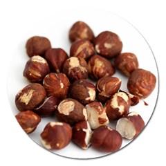 Hazelnuts Magnet 5  (Round)