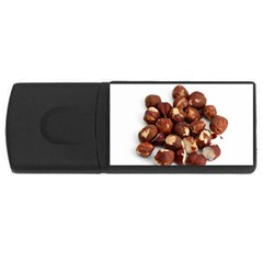 Hazelnuts 4GB USB Flash Drive (Rectangle)