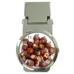Hazelnuts Money Clip with Watch