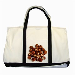 Hazelnuts Two Toned Tote Bag