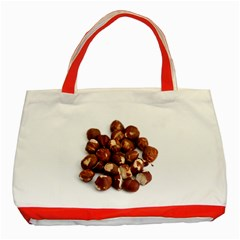 Hazelnuts Classic Tote Bag (red)