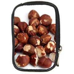 Hazelnuts Compact Camera Leather Case