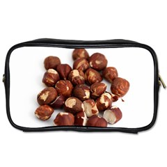 Hazelnuts Travel Toiletry Bag (Two Sides)