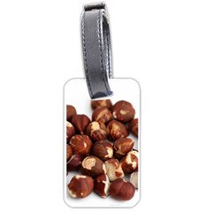 Hazelnuts Luggage Tag (one Side)