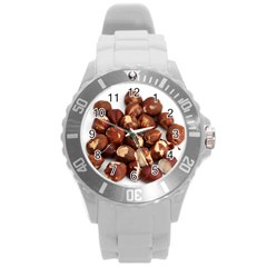 Hazelnuts Plastic Sport Watch (Large)