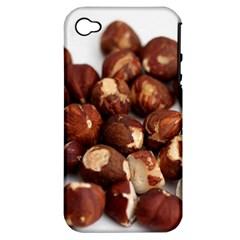 Hazelnuts Apple iPhone 4/4S Hardshell Case (PC+Silicone)