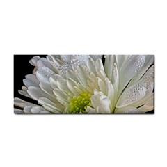 MysteryNamed White Flower Hand Towel