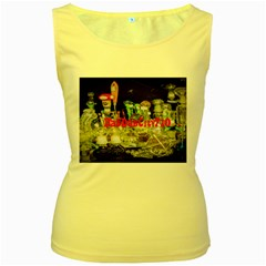 DabDabCity710 Womens  Tank Top (Yellow)