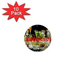 DabDabCity710 1  Mini Button (10 pack)