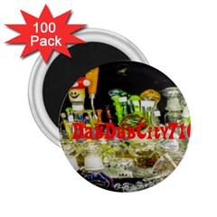 Dabdabcity710 2 25  Button Magnet (100 Pack)