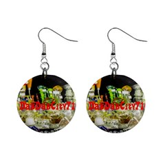 DabDabCity710 Mini Button Earrings