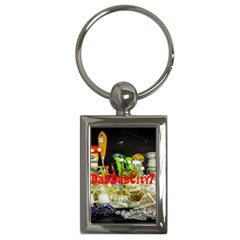 DabDabCity710 Key Chain (Rectangle)