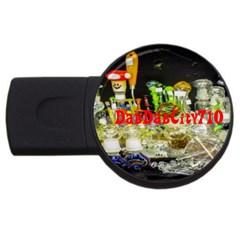 DabDabCity710 1GB USB Flash Drive (Round)
