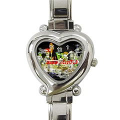 DabDabCity710 Heart Italian Charm Watch