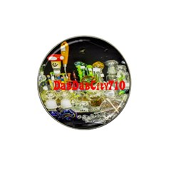 DabDabCity710 Golf Ball Marker (for Hat Clip)