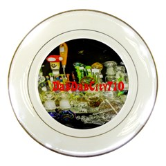 Dabdabcity710 Porcelain Display Plate