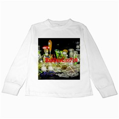 Dabdabcity710 Kids Long Sleeve T Shirt