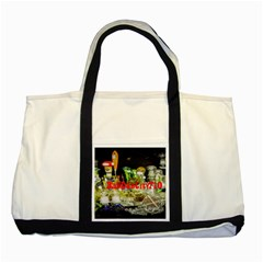 Dabdabcity710 Two Toned Tote Bag