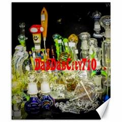 Dabdabcity710 Canvas 8  X 10  (unframed)