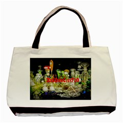 DabDabCity710 Twin-sided Black Tote Bag