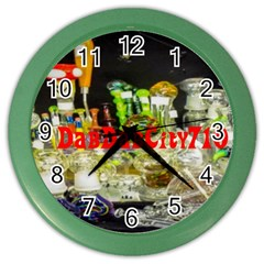 Dabdabcity710 Wall Clock (color)