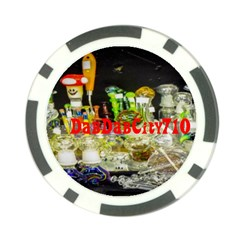 DabDabCity710 Poker Chip 10 Pack