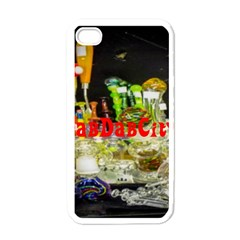 DabDabCity710 Apple iPhone 4 Case (White)