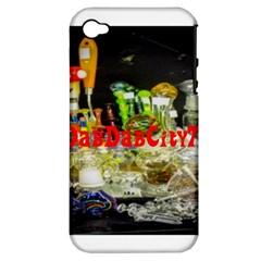 Dabdabcity710 Apple Iphone 4/4s Hardshell Case (pc+silicone)