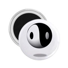 Yin Yang 2.25  Button Magnet