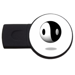 Yin Yang 2gb Usb Flash Drive (round)