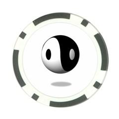 Yin Yang Poker Chip