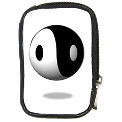 Yin Yang Compact Camera Leather Case
