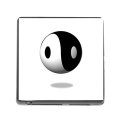 Yin Yang Memory Card Reader with Storage (Square)