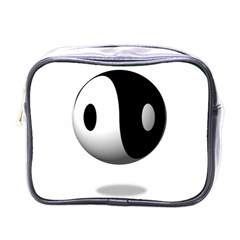 Yin Yang Mini Travel Toiletry Bag (One Side)