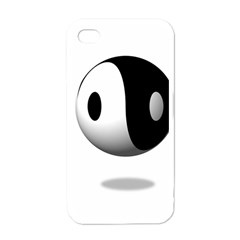 Yin Yang Apple Iphone 4 Case (white)