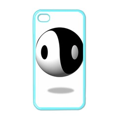 Yin Yang Apple iPhone 4 Case (Color)
