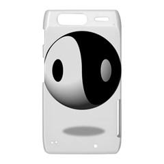 Yin Yang Motorola Droid Razr XT912 Hardshell Case