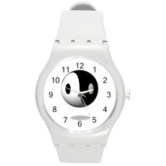 Yin Yang Plastic Sport Watch (medium)
